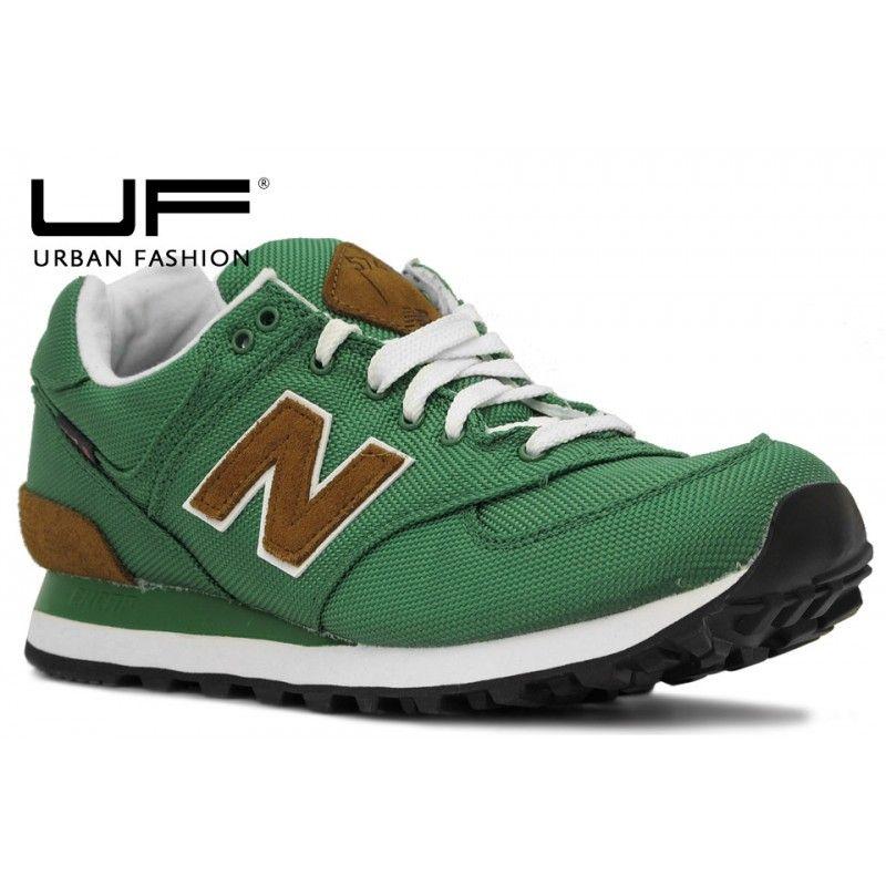 ce0657449 New Balance ML 574 BPG Verde   boot