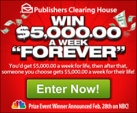 Publishers Clearinghouse Sweepstakes Pch
