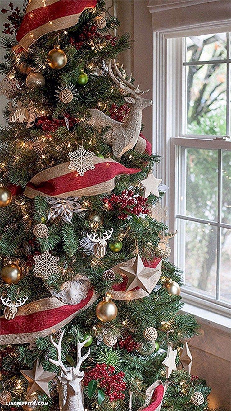 Brilliant ideas christmas tree decoration ideas with ribbon 09 #ribbononchristmastreeideas Brilliant ideas christmas tree decoration ideas with ribbon 09 #ribbononchristmastreeideas