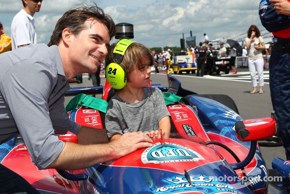 Gordon Jr. wants to become an IndyCar driver ?
