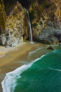 McWay Falls at Julia Pfeiffer Burns State Park, Monterey CA....  next time I am in Monterey
