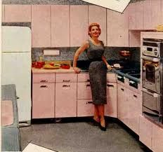 Beauty Queen Metal Kitchen Cabinets Google Search Retro Pink Kitchens Pink Kitchen Retro Renovation