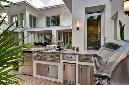 Making Your Outdoor Kitchens With Elegant And Modern Design Ideas Outdoor Kitchen Design Modern Outdoor Kitchen Outdoor Kitchen