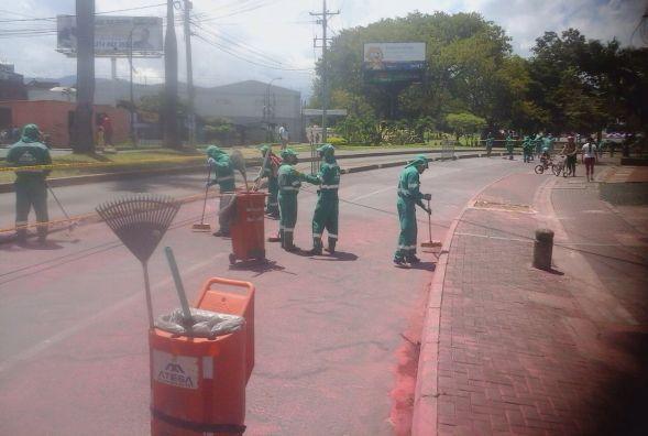 """""""Pereira es una fiesta"""" también marca la diferencia  por la limpieza de sus…"""