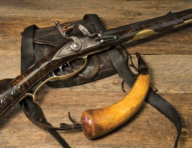 Lowell Haarer Flintlock Rifle