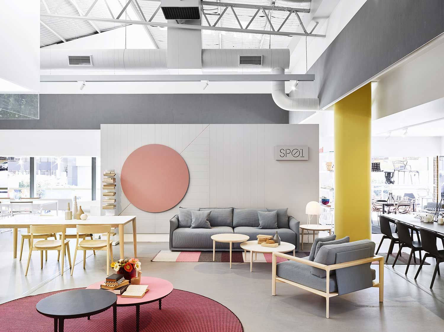 Lounge Clearance Brisbane Space Furniture S New Showroom By Designoffice New Work
