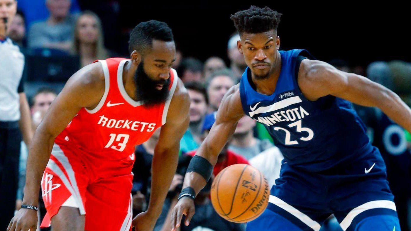 Jimmy Butler NBA Trade Rumors Houston Rockets having a
