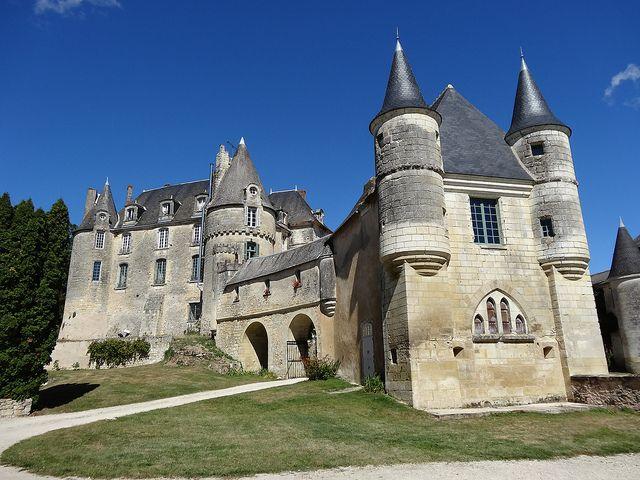 Château de La celle Guenand.  Centre Indre-et-Loire