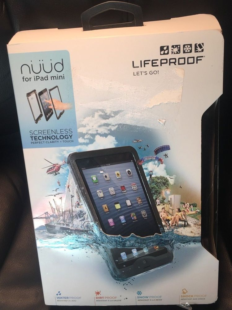 low priced 30cf4 4faac LifeProof NUUD FOR iPAD MINI Lifeproof Waterproof SHOCK PROOF 100 ...