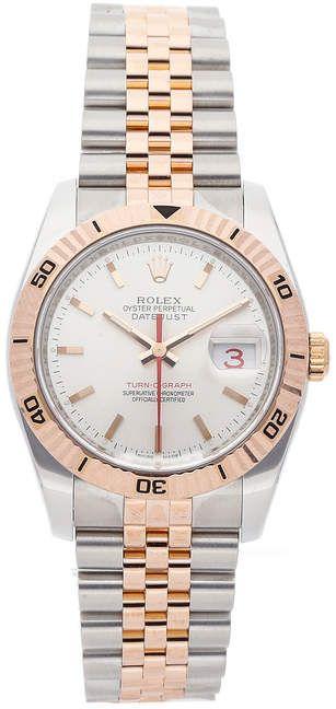 Rolex Datejust Turn-O-Graph 116261 #rolexwatches
