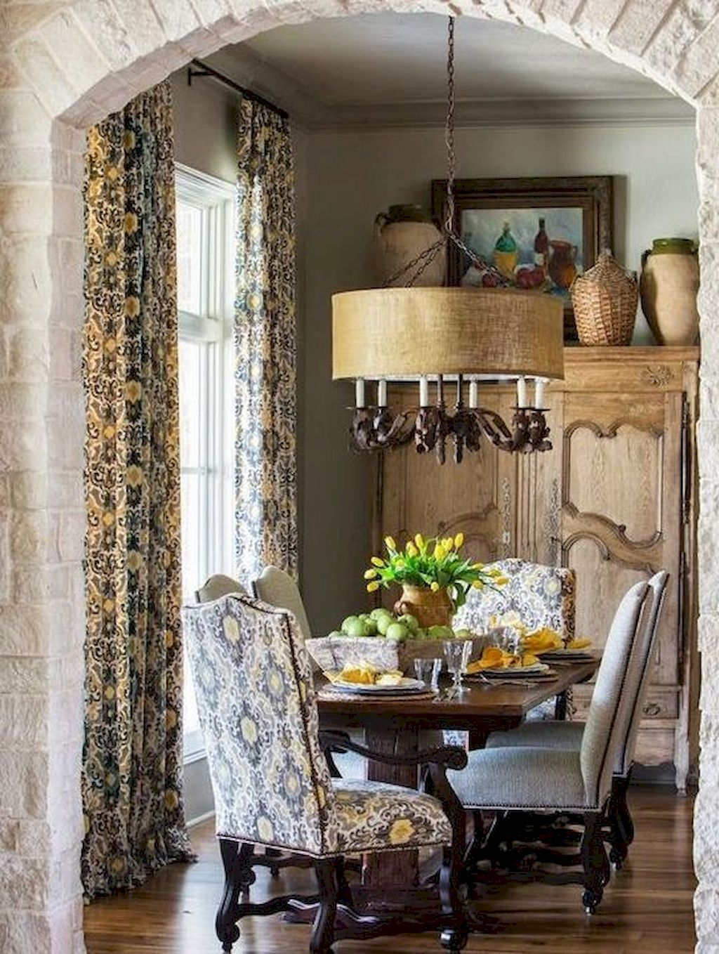 Awesome Dining Rooms From Hulsta: 02 Awesome French Country Dining Room Decor Ideas