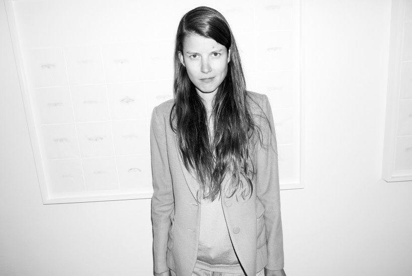"Martynka Wawrzyniak ""Feed"" at Envoy Enterprises, New York - purple ART"
