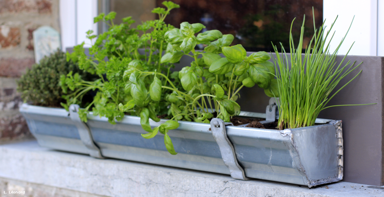 fabriquer une jardini re de plantes aromatiques by fhomeos tasie floreiras. Black Bedroom Furniture Sets. Home Design Ideas