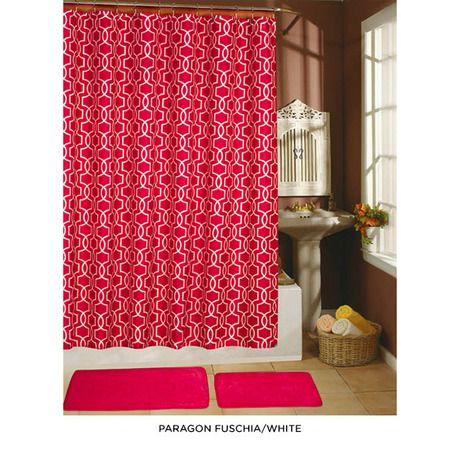 Fuschia Shower Curtain Pink Disco Swirl By No Boundaries Http