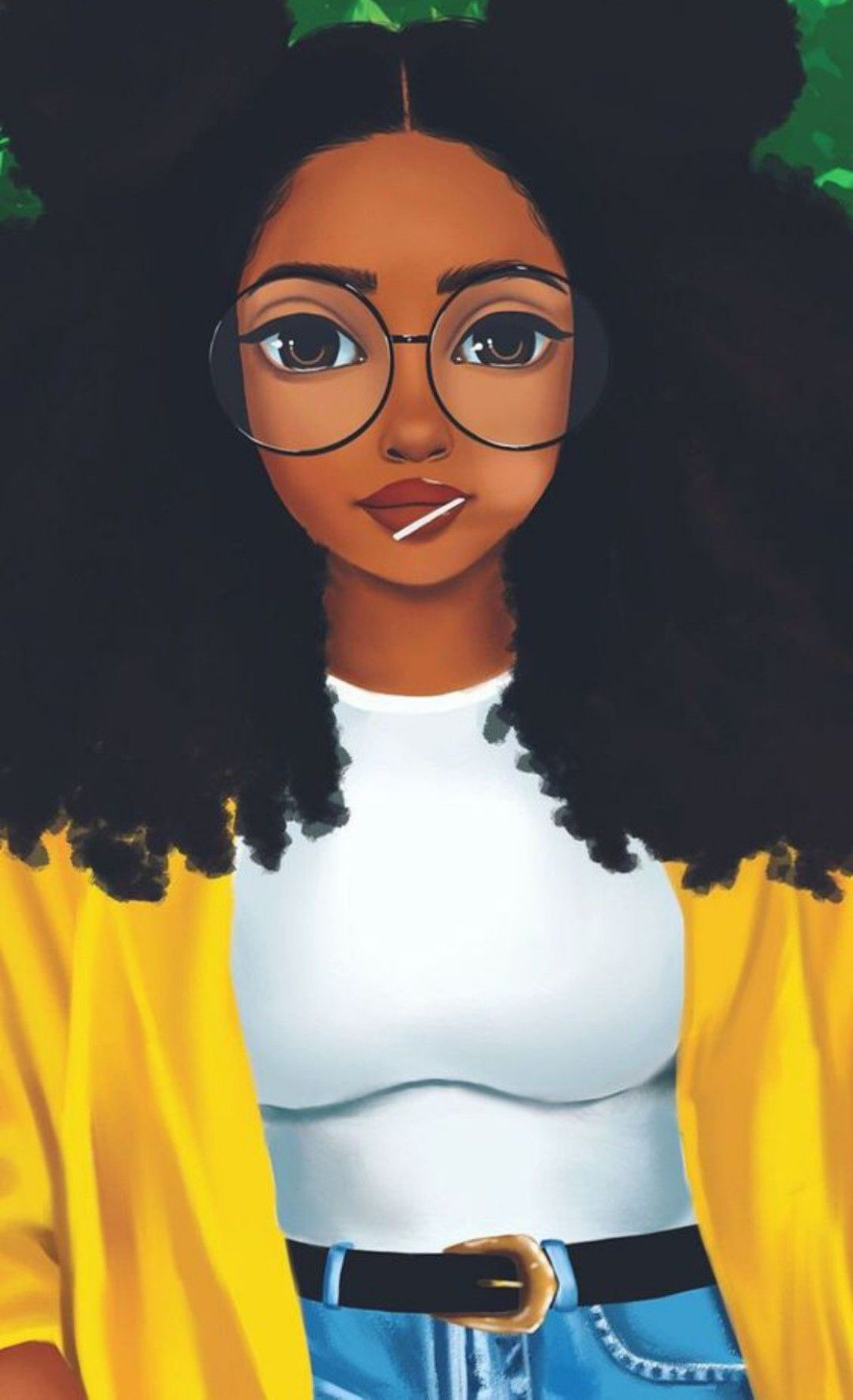 Hd Girly Wallpaper Cute Wallpaper Girl Drawings Of Black Girls Black Girl Art Cute Girl Wallpaper