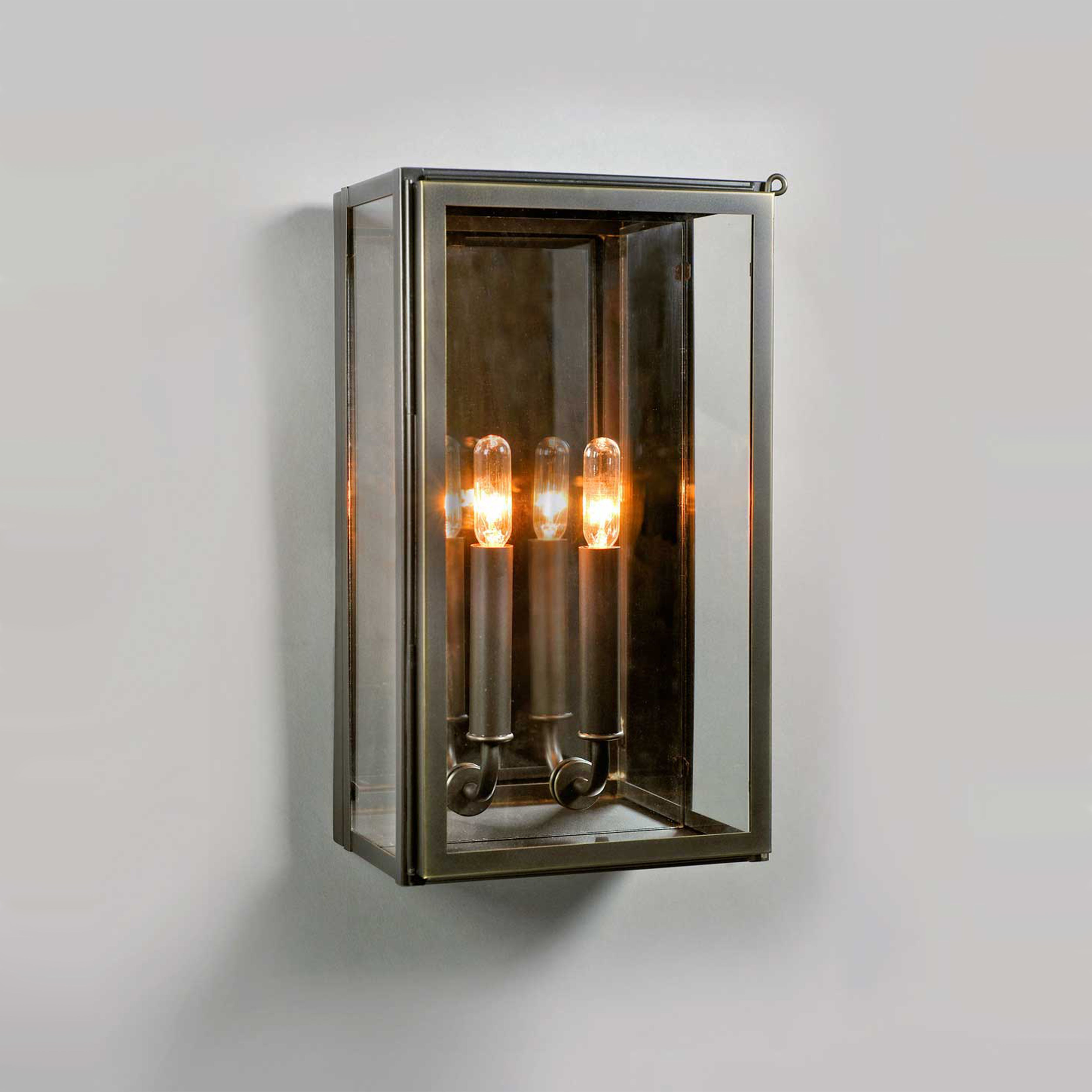 The Urban Electric Company S Vic Lantern Shown In Bronze With