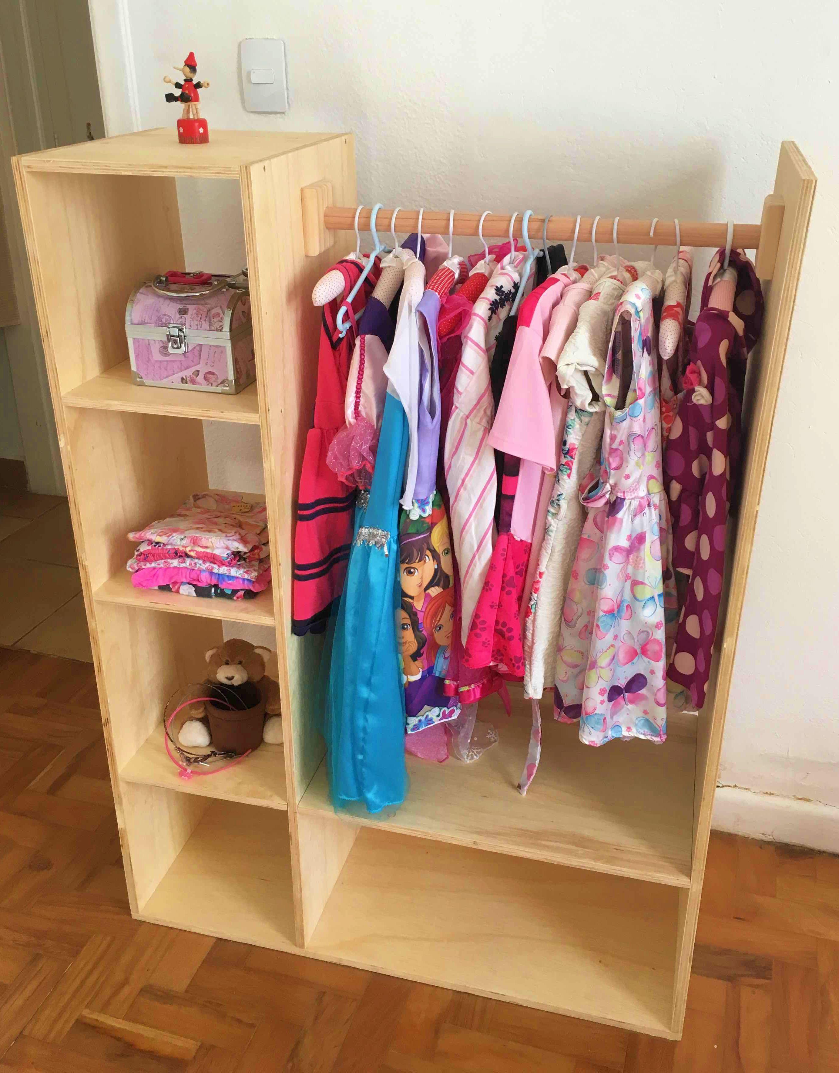 Guarda Roupa Infantil Projetos De Dormitorios Mobiliario Para