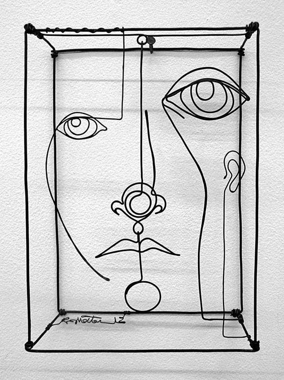 43 Draht Kunst Skulpturen bereit zu betonen Your Space | Draht ...