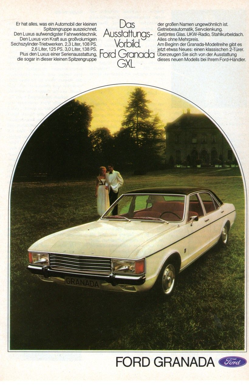Pin By Claudia Cole On Dino Lehner Ford Granada Car Advertising Ad Car