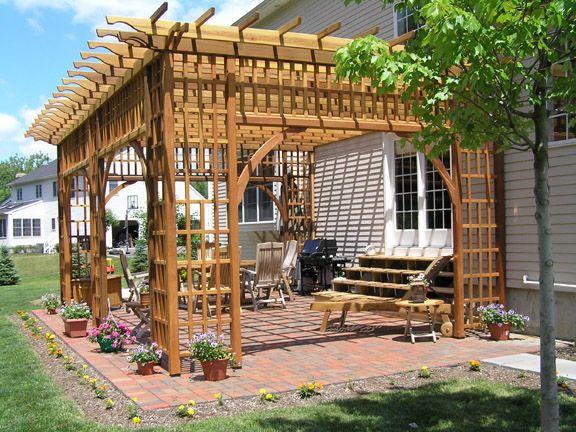 Pin By Fatima On حدايق Outdoor Structures Pergola Garden