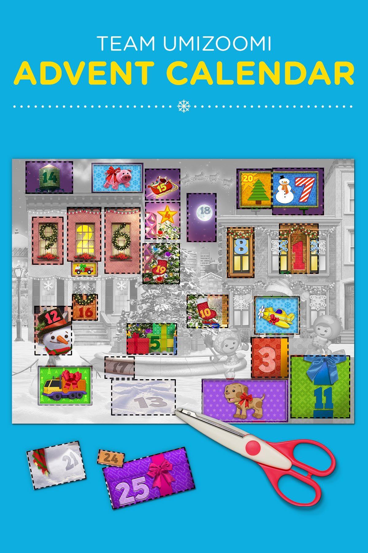 Create Extraordinary Umizoomi Advent Calendars With The