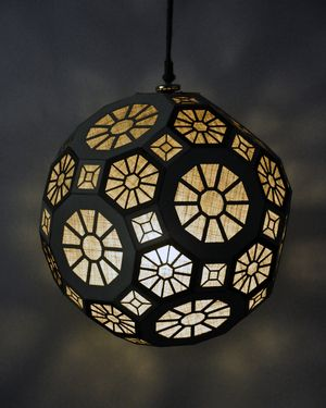 laser cut lantern pattern  Pin on Let There Be Light