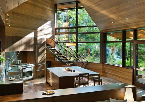 The coolest cabin ever!   Cabin on Squam Lake in New Hampshire by Tom Murdough
