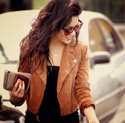 Brown Jacket / crush <3