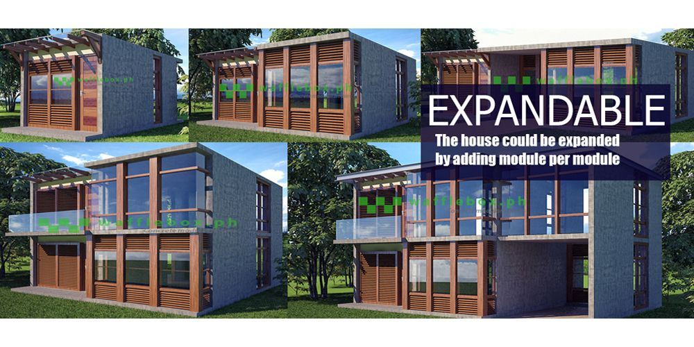 Expandable Concrete Modular House Designs For Your Dream