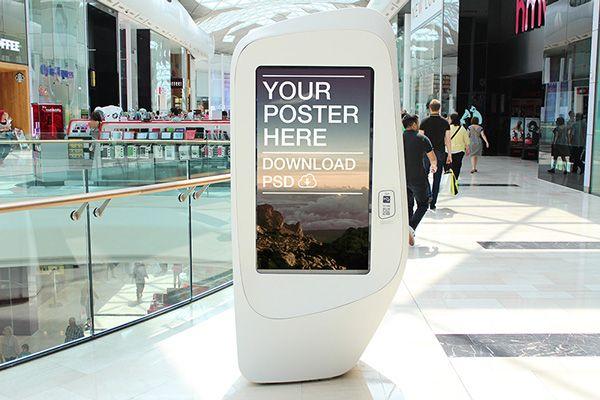 Digital Ad Poster Mockups on Behance | Poster mockup ...