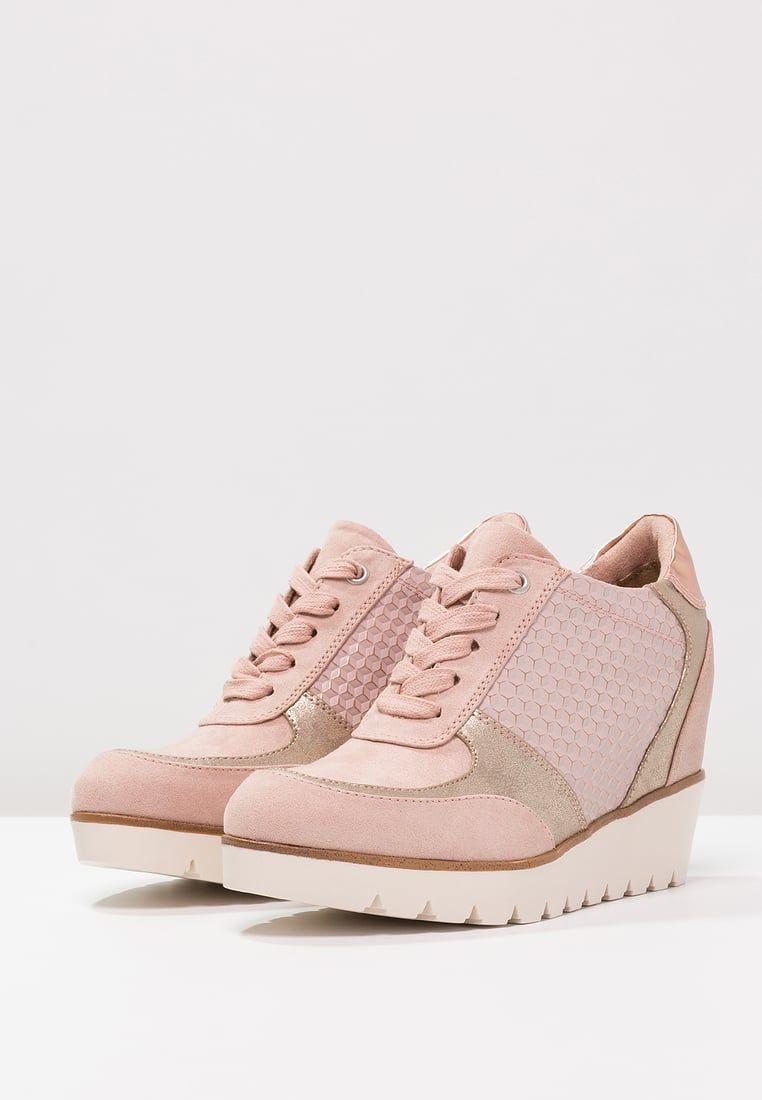 Tamaris Tenisowki I Trampki Rose Zalando Pl Sneakers Shoes Tamaris
