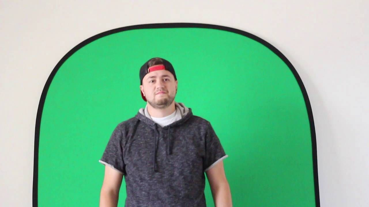 This collapsible green screen from fotodiox is the best