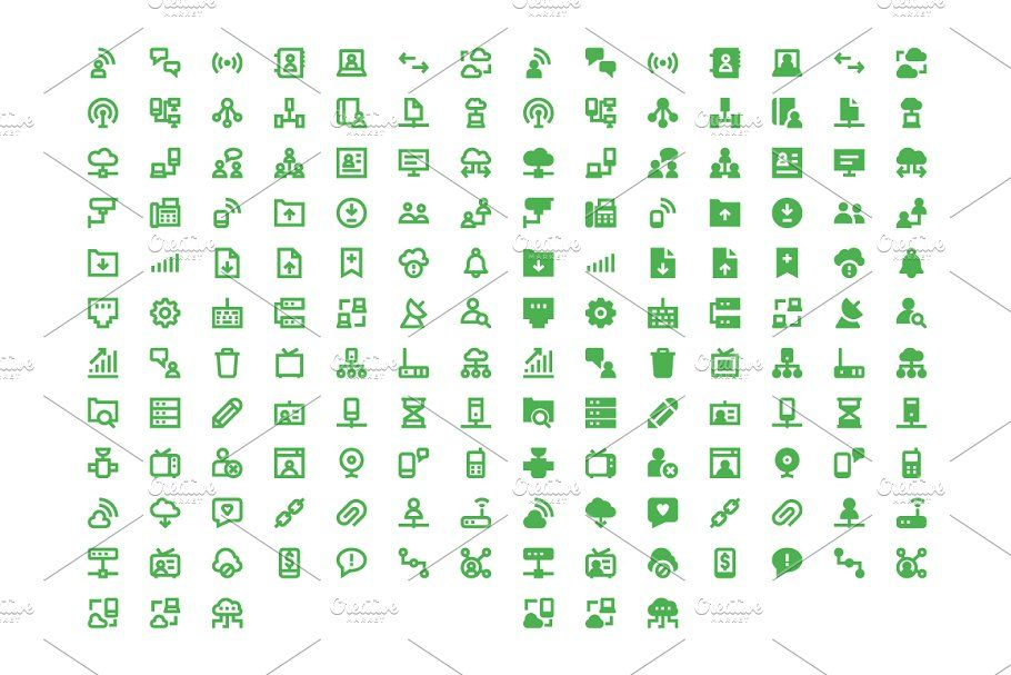 160 Network And Communication Icons Network Icons Communication
