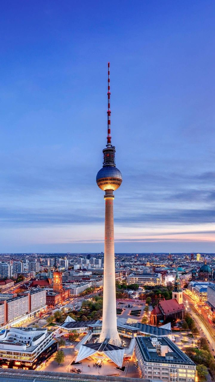 TV Tower in Berlin,Germany Travel around the world