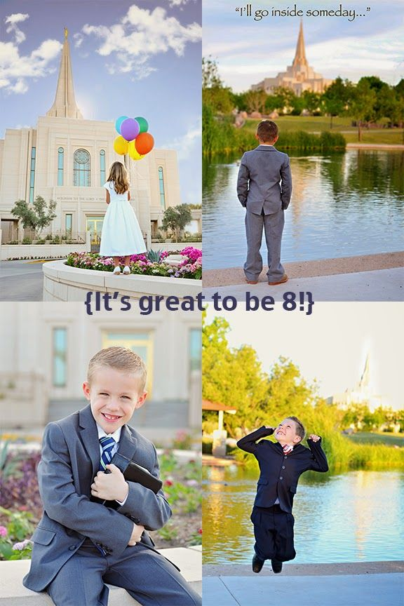 Stephanie Foster Photography: It\'s great to be 8! LDS baptism photo ...