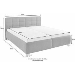 Photo of Maintal upholstered bed Maintal