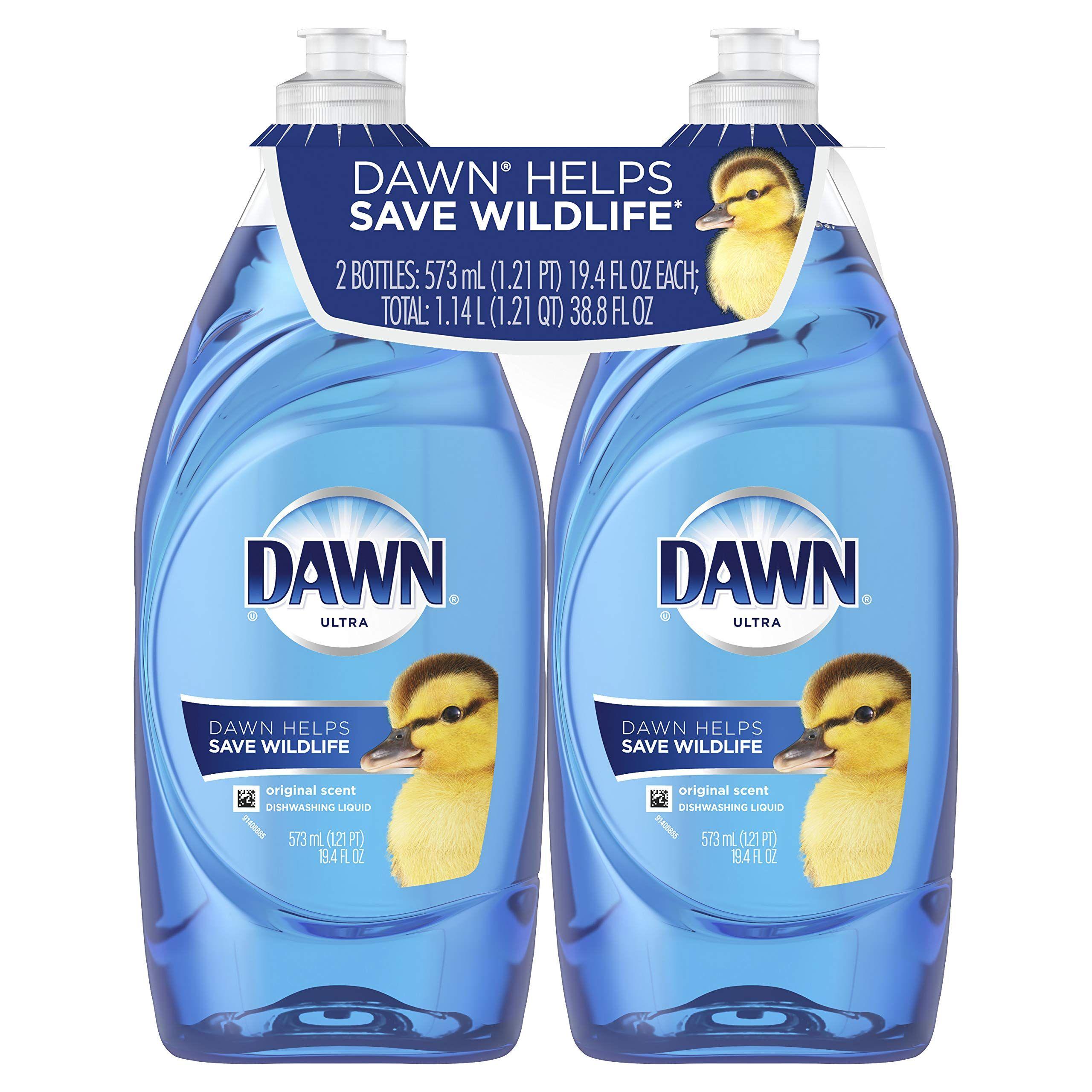Dawn Ultra Dishwashing Liquid Original 2 Counta Packaging May