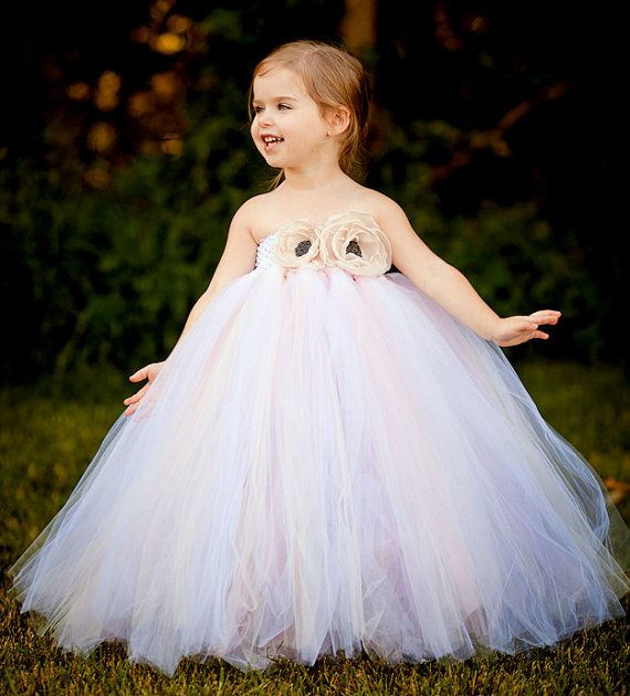 78  images about Flower Girl Tutu Dresses For Girls on Pinterest ...