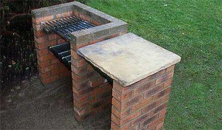 How To Build A Brick Barbecue Brick Bbq Diy Grill Brick Grill
