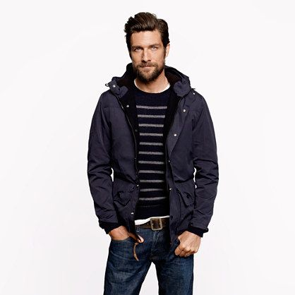 detailed pictures premium selection new high Hooded Heathfield jacket - outerwear - Men's New Arrivals - J.Crew ...