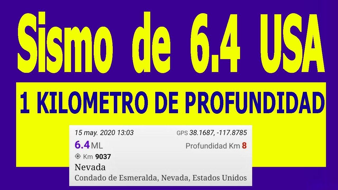 Sismos De 6 4 En Nevada Y California Estados Unidos Hoy Y Sus Replicas Estados Unidos Hoy Nevada Estados Unidos