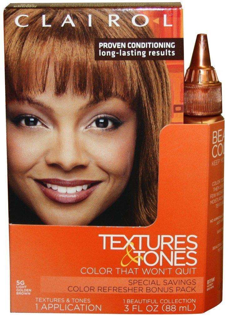 Clairol Textures And Tones Hair Color 5g Light Golden Brown