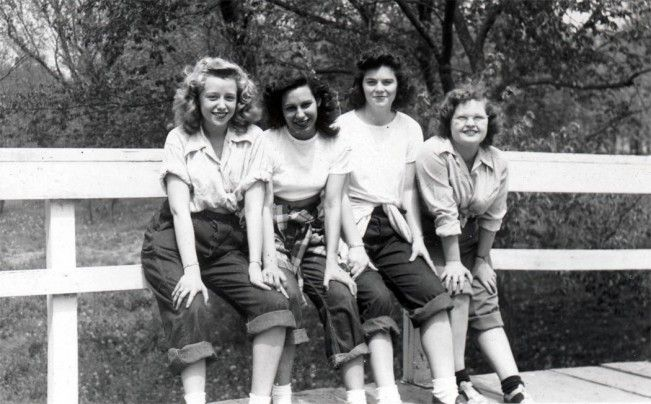 Vintage Teenage Fashion 1910s-1950s #decadesdayspiritweek
