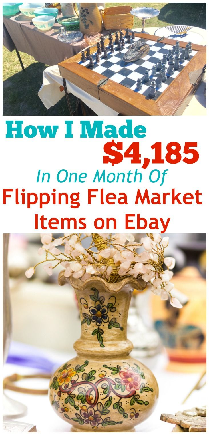 4185 march total flea market flipping report