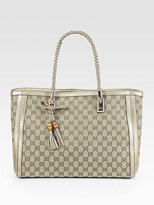 44a57d5c70b5 Gucci - Bella Medium Tote Bag - Saks.com | Lustworthy | Bags, Gucci ...