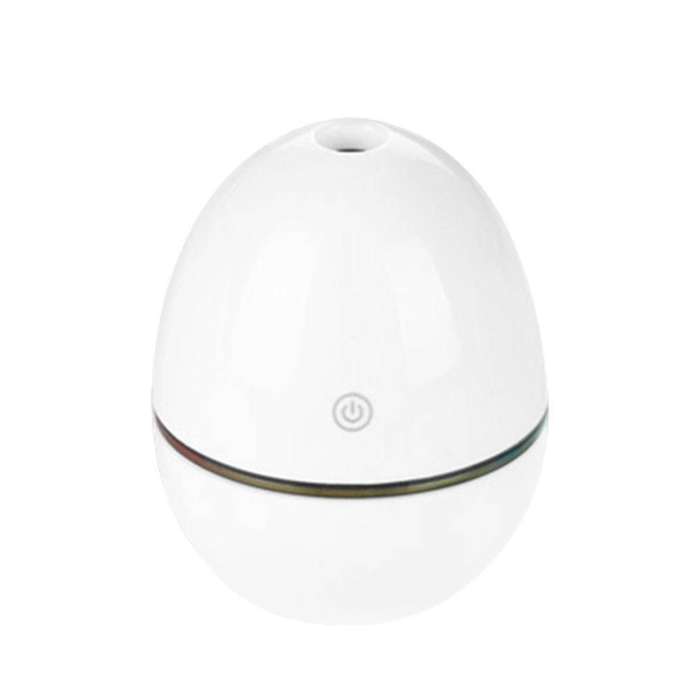 Portable Mini Home LED Night Light USB Humidifier Purifier Atomizer Air Diffuser - White