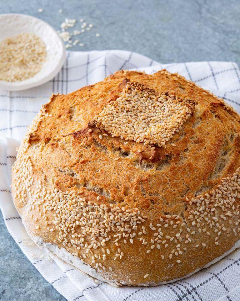 Platinum Instant Sourdough Semolina Bread Red Star Yeast Recipe Food Bread Recipes