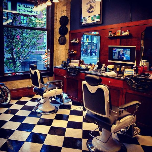 Barber Shop Design Ideas interior barber shop design ideas beauty salon floor plan salon interior designers salon layout maker hair salon designs small spaces parlour design Farzads Barber Shop Vancouver Bc Canada You Got To Love This Kind Of Barbershop Designbarbershop Ideasbarber