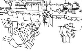 Resultado De Imagem Para Desenhos Para Colorir Minecraft Herobrine