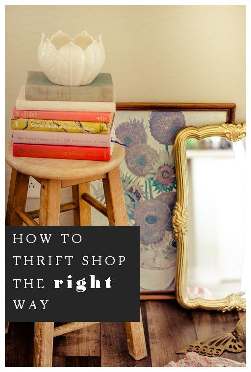 7 SECRETS OF THRIFT STORE SHOPPING Thrift store shopping